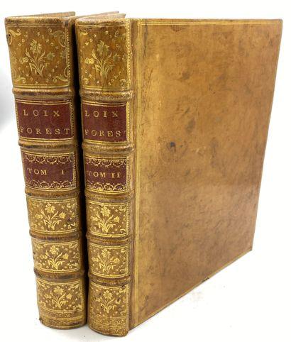 PECQUET] 2 vols.  M. PECQUET, Grand-Maitre...