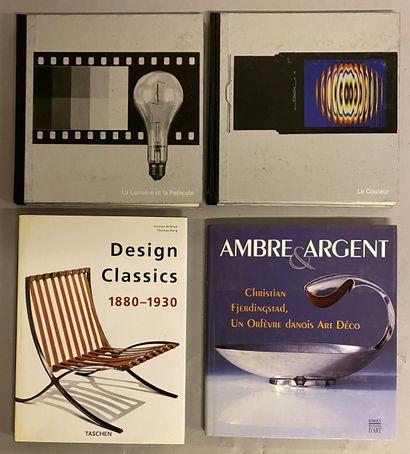 ART -DESIGN- ORFEVRERY-PHOTOGRAPHY] 4 vols...