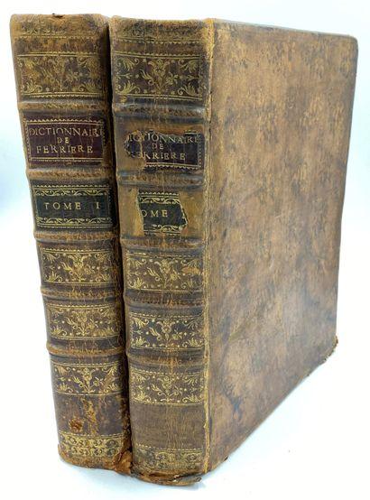 LAW - FERRIERE] 2 vols.  M. Claude Joseph...