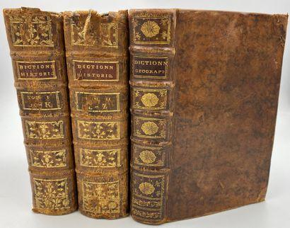 LADVOCAT] 3 vols.  LADVOCAT (abbé), Dictionnaire...