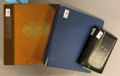 3 Albums France Classique, SM et Moderne (faciale jusqu'à 1974) dont Monuments (Pdg obl x2), ÇA*, BF2, Traversée de l'Altantique, Grands Hommes, Révolution + Taxe + Préo.