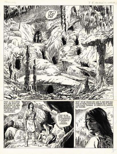 ROSINSKI GRZEGORZ ROSINSKI THORGAL Au-delà des Ombres (T.5), Le Lombard 1983 Planche...