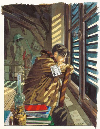 GIBRAT JEAN-PIERRE GIBRAT  LE SURSIS  Tome 1, Dupuis 1997  Couverture originale....