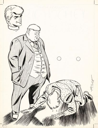 TIBET TIBET  RIC HOCHET    Ric Hochet contre le Bourreau (T.14), Le Lombard 1972...