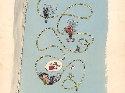FRANQUIN ANDRÉ FRANQUIN Marsupilami Illustration originale réalisée dans les années...