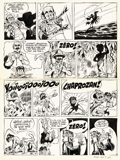 GOTLIB MARCEL GOTLIB  TRUCS-EN-VRAC (T.1), Dargaud 1977  Histoire complète en 6 planches...