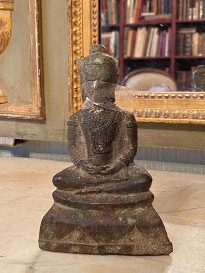 Thailande, Ayuthia XVIIème siècle.  Bouddha...