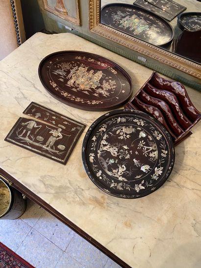 Indochine, XIXème et XXème siècle.  Lot...