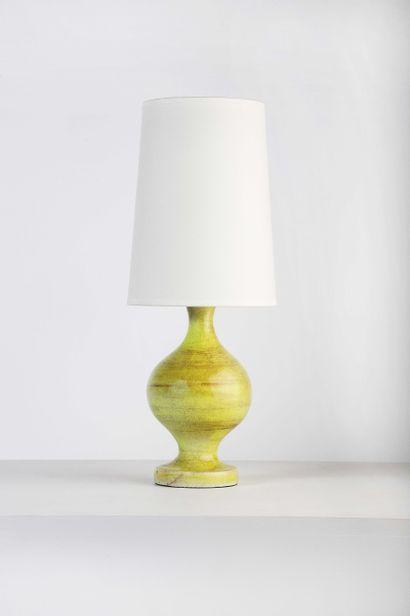 Georges JOUVE (1910-1964)  Lampe de table...