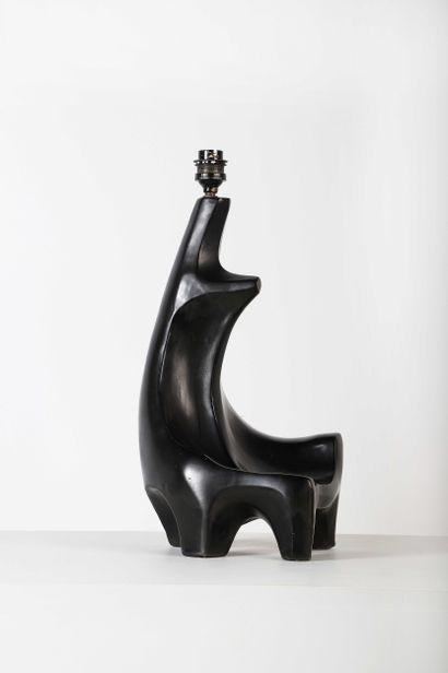 Georges JOUVE (1910-1964)  Pied de lampe...