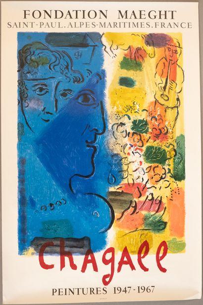 Marc CHAGAL (d'après )  « Fondation Maeght...