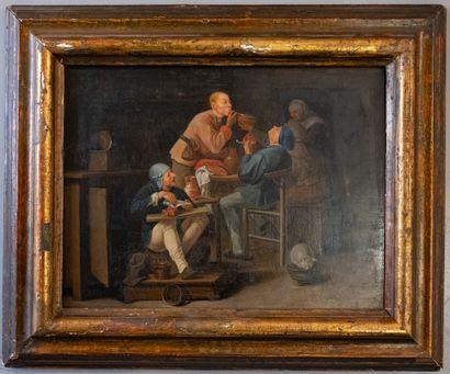 École hollandaise de la fin du XVIIe siècle....