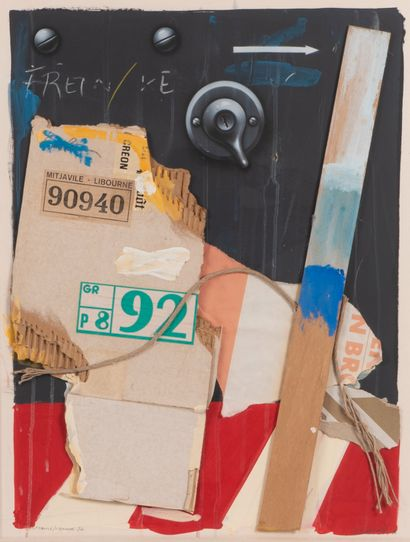 Peter KLASEN (1935)  Mitjavile / Libourne...