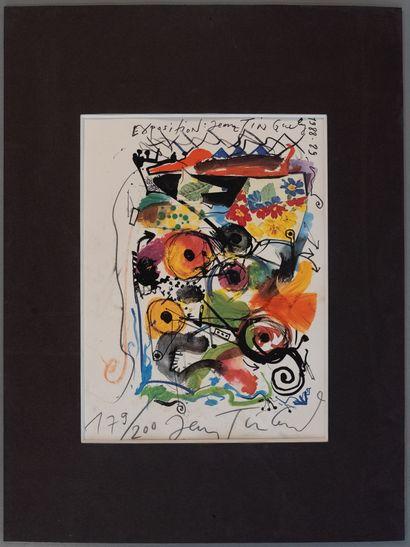 Jean TINGUELY (11925-1991)