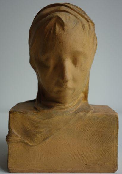 Léopold RENARD (1868-1945)  Jeune fille au...