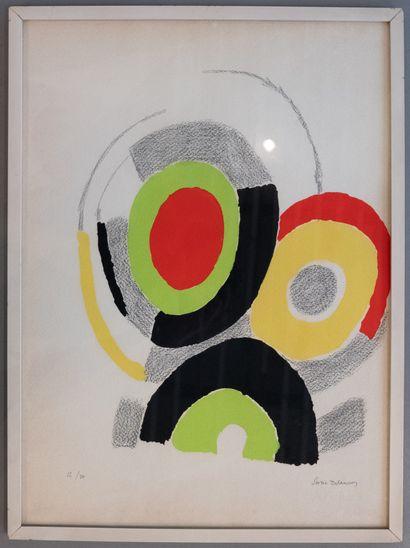 Sonia DELAUNAY (1885-1979)  Composition...