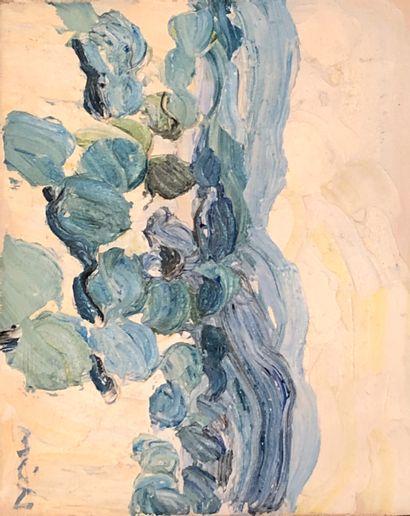Roger MÜHL ( 1928-2008 )  Les oliviers, BR058....