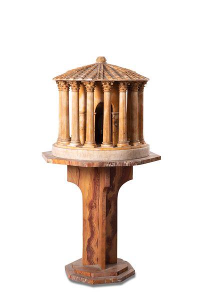 TEMPIO DI VESTA  Sculpture formant lampe...