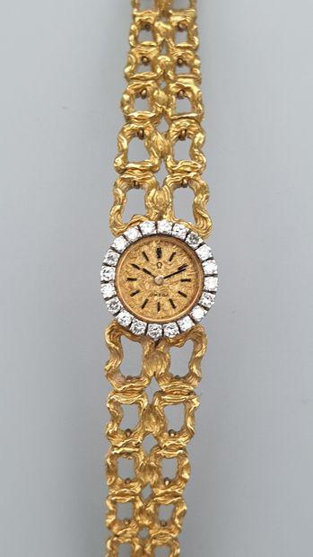 OMEGA, vers 1960  Elégante montre de dame...