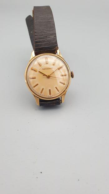 JAEGER LECOULTRE vers 1955  Montre bracelet...