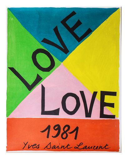 Yves SAINT LAURENT (1936-2008), d'après...