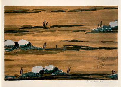 ARROYO Eduardo (1937-2018)  Oraisons Funèbres  Edition Michèle Trinckvel, Paris,...
