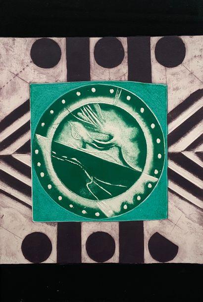 SCARPA Gino (1924)  10 estampes ou lithographies...