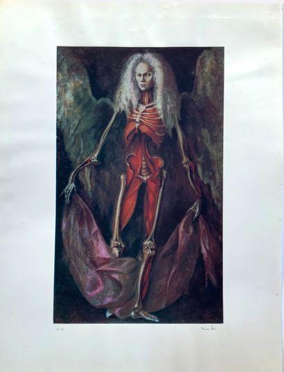 FINI Leonor ( 1908-1996)  L'Ange de l'anatomie...