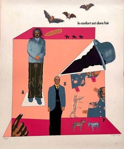 SEGUI Antonio (1934)  Sans démagogie - 1970/1972...