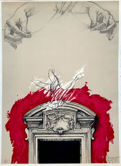 Ernest Pignon-Ernest (1942)  Sérigraphie...