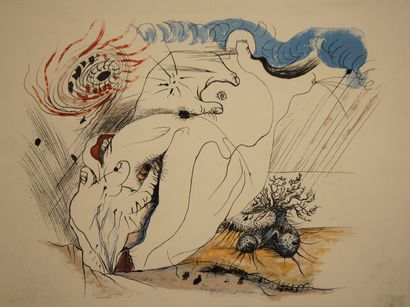 MASSON André (1896-1987)  9 Lithographies...