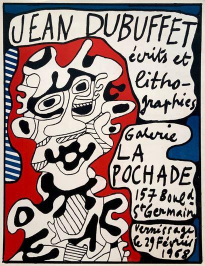 DUBUFFET Jean (1901-1985)  Écrits et lithographies,...