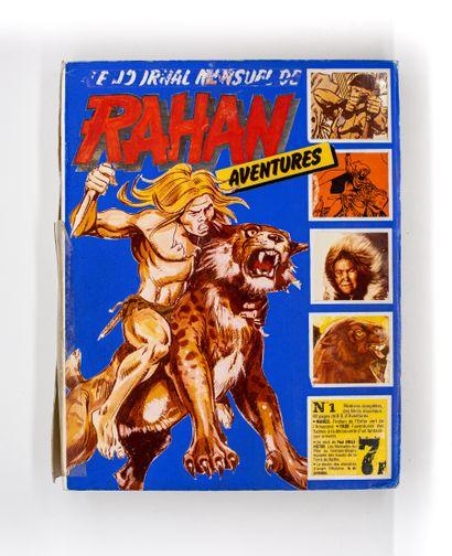 RAHAN, maquette originale du journal numéro...