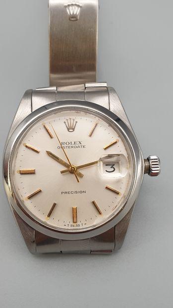 ROLEX, Precision ref. 6694 vers 1970  Montre...