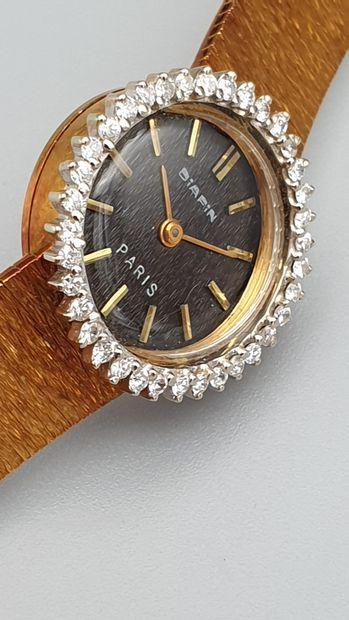 DIAFIN Paris, vers 1965  Elégante montre...