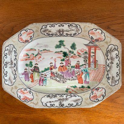 CHINE, pour l'exportation, XVIIIème siècle....