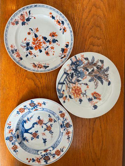 CHINE, Imari, pour l'exportation, XVIIIème...