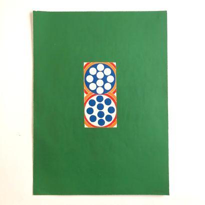 Cinq lithographies et sérigraphies. Format...