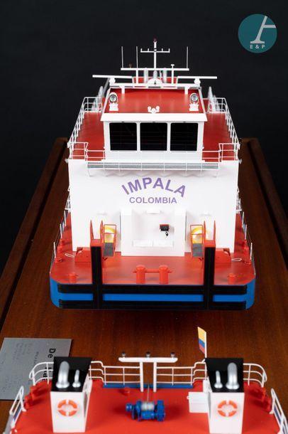 Double Maquette Double maquette de l'Impala Calamar et de l'Impala Barrancabermeja...