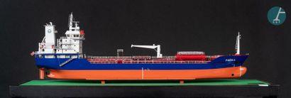 Maquette navire de transport de produits chimiques