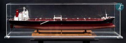 Maquette d'un pétrolier