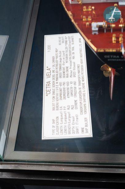 Belle Maquette de minéralier Belle maquette du Cetra Vela Dunkerque, minéralier créé...