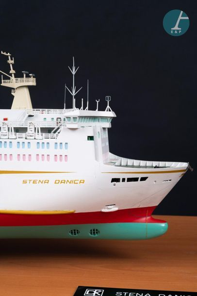 Maquette d'un ferry Maquette du super day ferry Stena Dancia de la compagnie Stena...