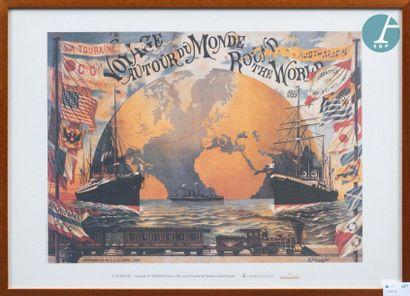 Lot de 11 affiches modernes encadrées, composé de reproductions de qualité d'affiches...