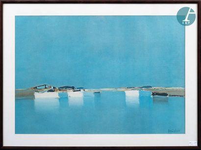 Pierre DOUTRELEAU (1938-) Pierre DOUTRELEAU (1938-), Composition, Reproduction. Dimensions:...