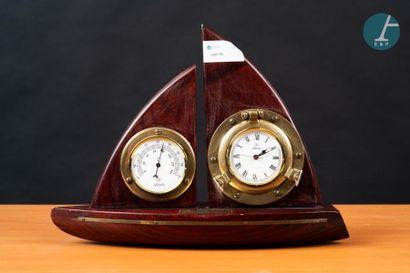 Horloge et baromètre