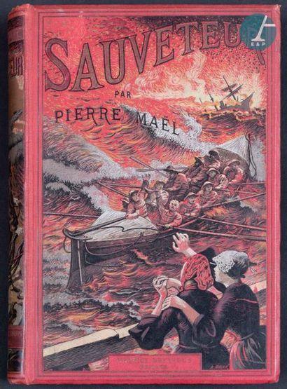 Livres brochés Lot de trois livres brochés : - « Sauveteur » de Pierre Maël, ed....