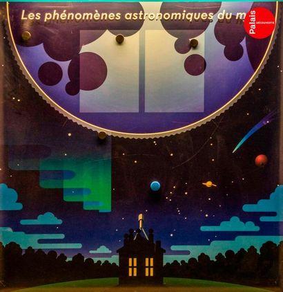 En provenance du Palais de la Découverte Panneau représentant les phénomènes astronomiques...