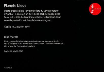 En provenance du Palais de la Découverte NASA Apollo 11, 22 juillet 1969. La Terre...