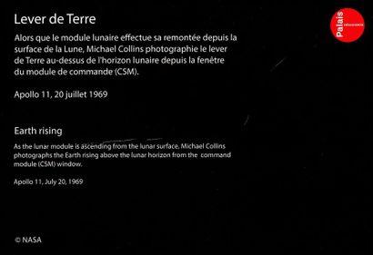 En provenance du Palais de la Découverte NASA - Michael Collins Apollo 11, 20 juillet...